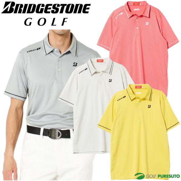 【即納!】ブリヂストンゴルフ TOUR B 半袖台付共衿シャツ メンズ 3GJ04A 【あす楽対応】