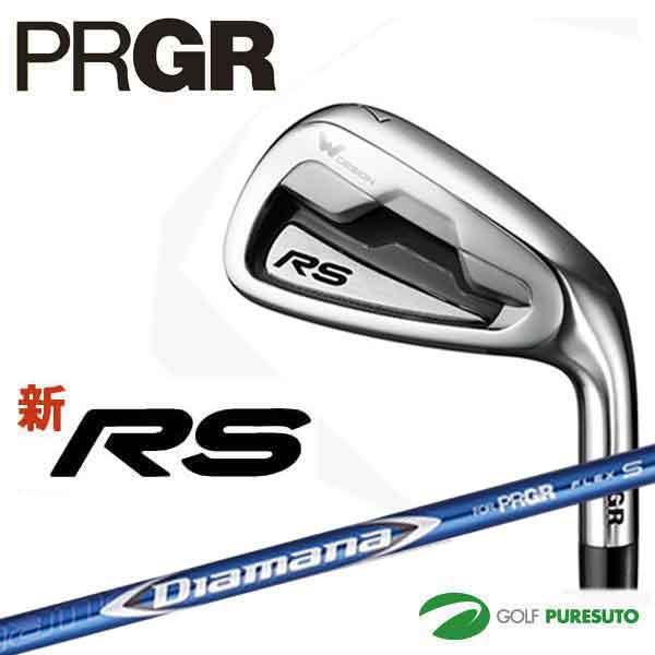 プロギア 新 RS アイアン 5本セット(#6~#9、Pw)Diamana for PRGRカーボンシャフト[PRGR RS]【■P■】