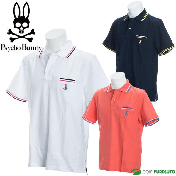 【即納!】サイコバニー 半袖ポロラインシャツ メンズ PHMA8F1/PL014Y 【あす楽対応】