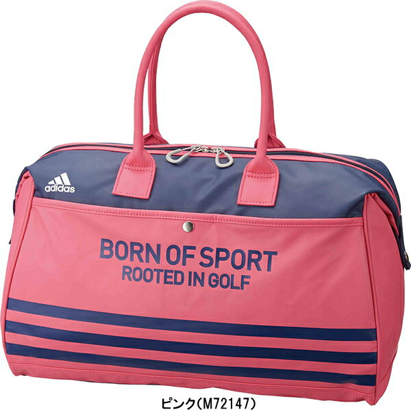 GOLF PURESUTO  Adidas golf 3 stripe Boston bag AWU57  4a49dd99172ea