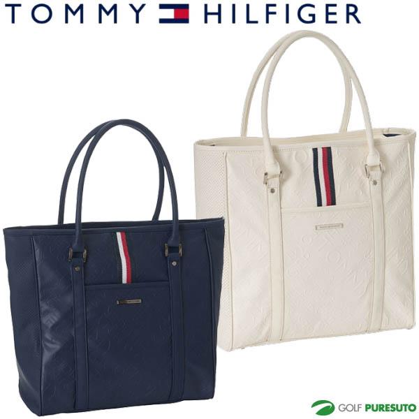 【即納!】トミー ヒルフィガー ゴルフ エンボスロゴ トートバッグ THMG8FB2 【あす楽対応】