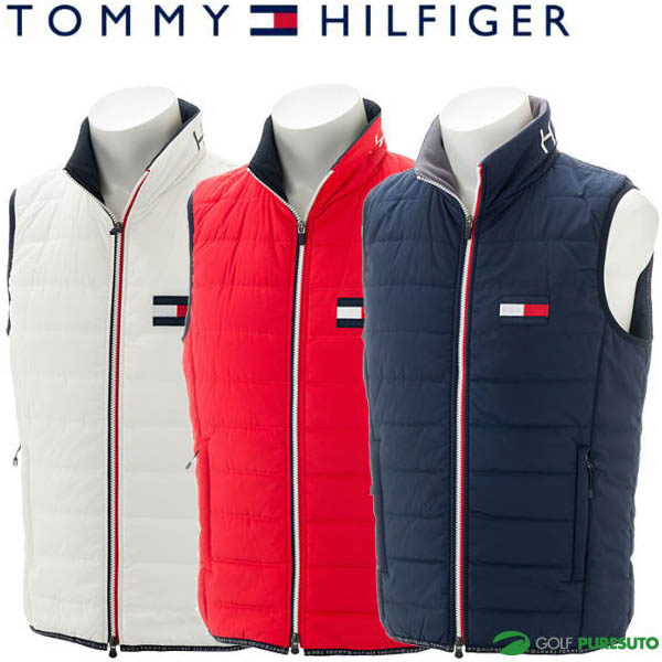 【即納!】トミー ヒルフィガー ゴルフ フラッグ パッカブル パデッドベスト メンズ THMA8C7 【あす楽対応】