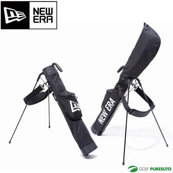 2019年モデル NEW ERA GOLF NEWERA スタンド式 クラブケース 【1日はP5倍】ニューエラ ゴルフ セルフスタンドケース ブラック 11901503