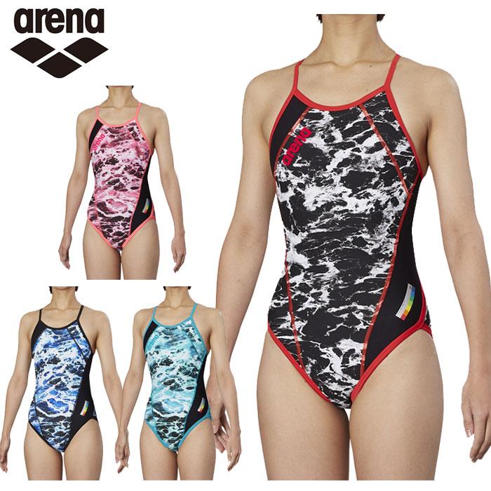 【レディース】アリーナ arena メッシュフライバック FSA-9618W スイム 女性 練習用 競泳水着 トレーニング スイムウェア