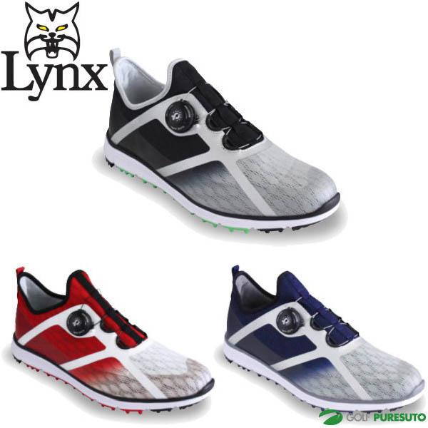 Lynx boa 早割クーポン ボア リンクス ゴルフシューズ メンズ スパイクレス 3E相当 SK-53 激安特価品