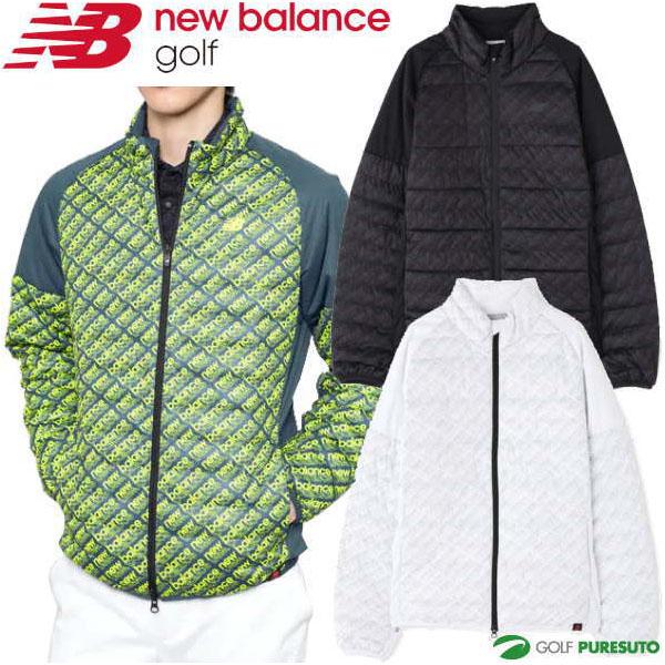 ニューバランス ゴルフ フルジップ パデッド ブルゾン メンズ 012-9220004