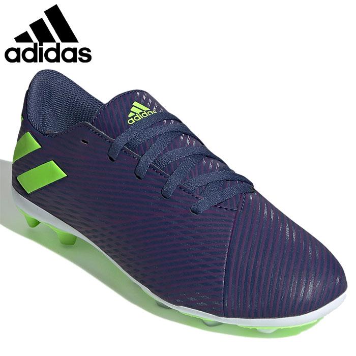 【★最大2000円OFFクーポン★】【ジュニア】アディダス adidas ネメシス メッシ19.4 サッカースパイク EF1816 キッズ 子供 Nemeziz Messi 19.4 Flexible Ground Boots