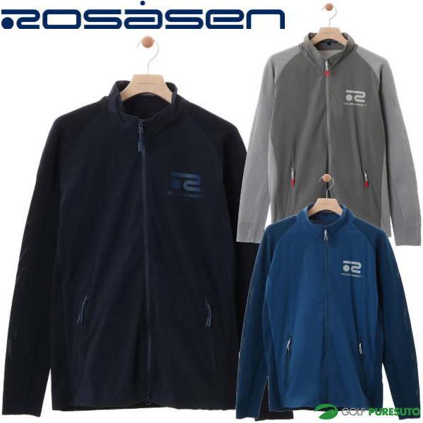 ロサーセン ハイブリッドニットブルゾン メンズ 044-52212 フルジップ