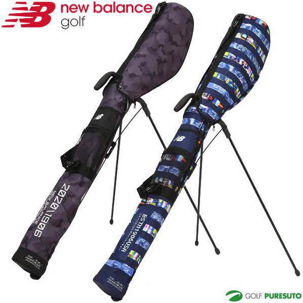 ニューバランス ゴルフ セルフスタンドバッグ クラブケース 012-0184009 ディストリクカモ/トーキョーナイトボーダー