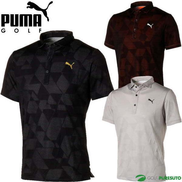\★先着クーポン配布中★/プーマ ゴルフ グラフィック ジャカード 半袖ポロシャツ メンズ 930011