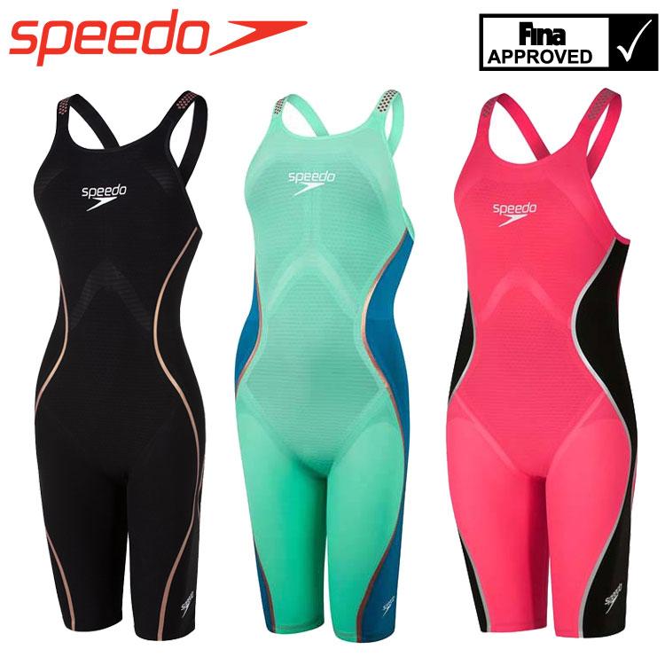 【レディース】スピード speedo Fastskin ファストスキン レーザーピュアインテント オープンバックニースキン SCW11901F 女性 競泳水着 レーシング オールインワン FINA承認モデル