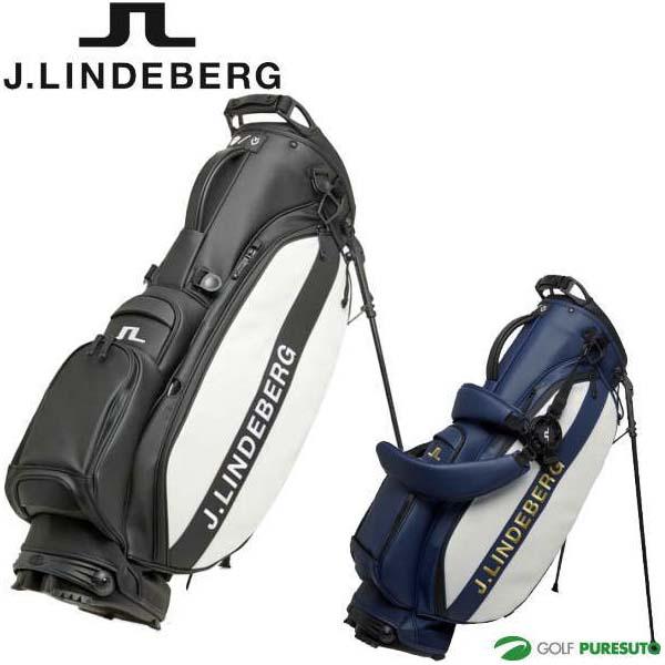 J.リンドバーグ ゴルフ ベゼル コラボ 10型 キャディバッグ 073-12300 スタンド式