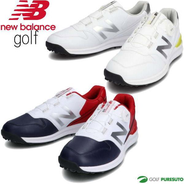 2020年秋冬モデル New 完全送料無料 オーバーのアイテム取扱☆ Balance Golf メンズ レディース 日本仕様 ニューバランス スパイクレス ボア BOA ゴルフシューズ ユニセックス D相当 UGBS996