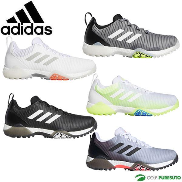 2020年モデル adidas 靴 紐タイプ EE9101 EE9102 EE9103 EE9104 アディダスゴルフ ゴルフシューズ EPC15 新品 メンズ FW4991 コードカオス 付与 2E相当 スパイクレス