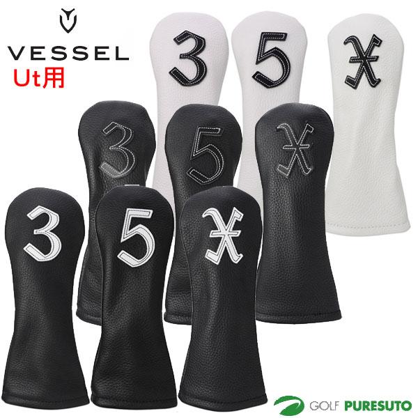 VESSEL Genuine Leather 本革製 ベゼル 人気 推奨 レザー ユーティリティ用 ジェニュイン ヘッドカバー HC3117