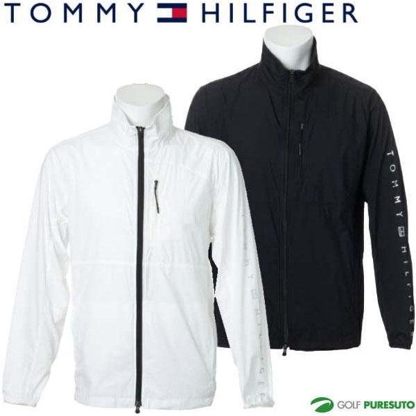 2020年秋冬モデル TOMMY HILFIGER 秋冬ウェア トミー ヒルフィガー ゴルフ ポケッタブル フルジップ ウィンドジャケット メンズ THMA089
