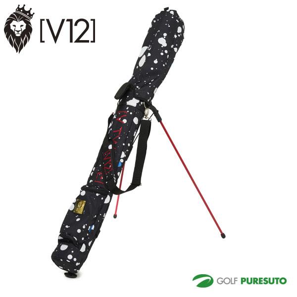 2020年モデル V12 ヴィトゥエルブ SELF BAG セルフスタンドバッグ V12 V122021-SC03 DRIPPING SELF BAG ドリッピング セルフ バッグ