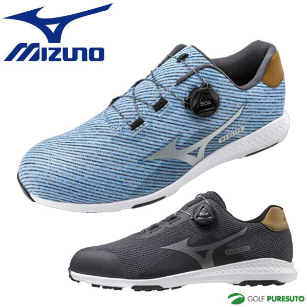 デポー 安心の定価販売 2021年モデル Mizuno Boa 靴 NEXLITE 軽量 ゴルフシューズ ミズノ ネクスライト008ボア スパイクレス 51GM2120 EEE相当