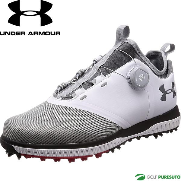 UNDER ARMOUR UA Tempo Sport 2 セール特別価格 BOA 2E相当 期間限定お試し価格 #3020800 ゴルフシューズ 靴 メンズ テンポスポーツ2 アンダーアーマー