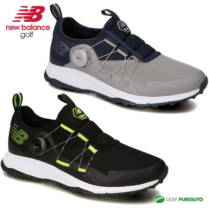 2021年秋冬モデル New Balance Golf ゴルフシューズ 靴 メンズ 人気 おすすめ ニューバランス ボア FOAM 2E相当 MGB4300 BOA FRESH スパイクレス 在庫一掃