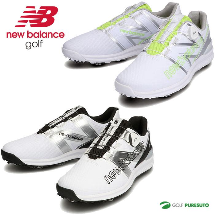 2021年秋冬モデル New Balance Golf 靴 メンズ 直営ストア レディース ニューバランス D相当 ボア BOA 割引 ゴルフシューズ ソフトスパイク UGBF996 ユニセックス