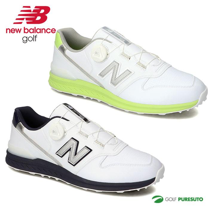 2021年秋冬モデル ついに再販開始 New Balance Golf 靴 メンズ レディース ニューバランス ゴルフシューズ BOA 本物 UGBS996 スパイクレス ボア ユニセックス D相当