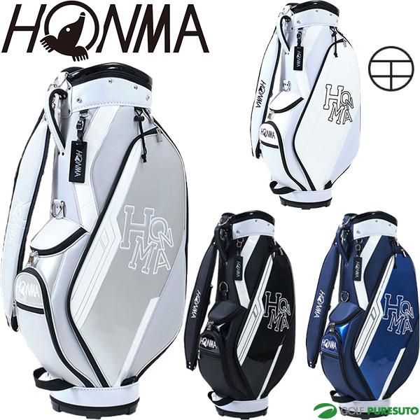 2021年モデル HONMA ホンマゴルフ (訳ありセール 格安) ネームプレート刻印無料 本間ゴルフ D1 カートバッグ 本日の目玉 キャディバッグ CB12115 9.0型