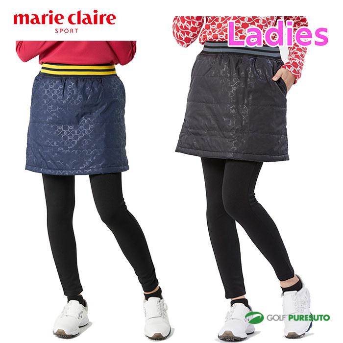最安値 マリクレール マリ クレール marieclaire mare claire レギンス 爆買い送料無料 セット レディース 防寒 スカート 739308