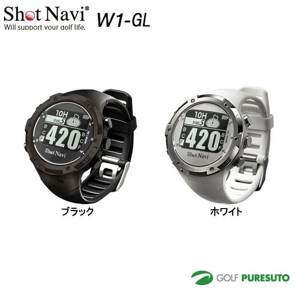 【★最大2000円OFFクーポン★】ショットナビ Shot Navi W1-GL 腕時計型GPSゴルフナビ [飛距離計測]