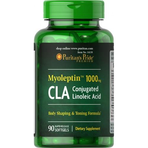 ピューリタンズプライド Puritan's Pride MYO-LEPTIN 共役リノール酸 (CLA) 1000mg