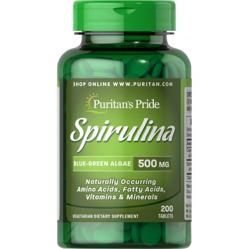 スピルリナは湖や海に生息する藻の一種で アミノ酸含有率 65% の高いサプリメントです その他にもビタミン ミネラル 脂肪酸などの栄養素が含まれています ビタミン サプリ サプリメント 亜鉛 Pride 5 Puritan's 健康食品 お気にいる mg スピルリナ 健康サプリ 生活ピューリタンズプライド 格安店 健康 タブレット健康