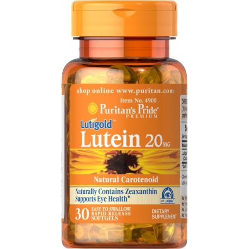 1粒にルテイン20 mg.含有 ゼアキサンチン800mcg含有 ルテインはフルーツ 野菜 マリゴールドに多く含有されるカロチノイドです ピューリタンズプライド Puritan's Pride ティゴールド 健康 ルテイン mg.目 ブランド買うならブランドオフ 2 健康な目 ぼやけた視力 ビタミン サプリメント 健康サプリ 視力 代引き不可