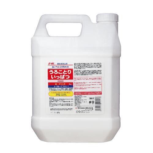 清掃用品・ガラスの汚れ・ガラスのうろこ洗浄剤・プロ用・業務用 鈴木油脂工業(SYA) ウロコとり一発!5kg