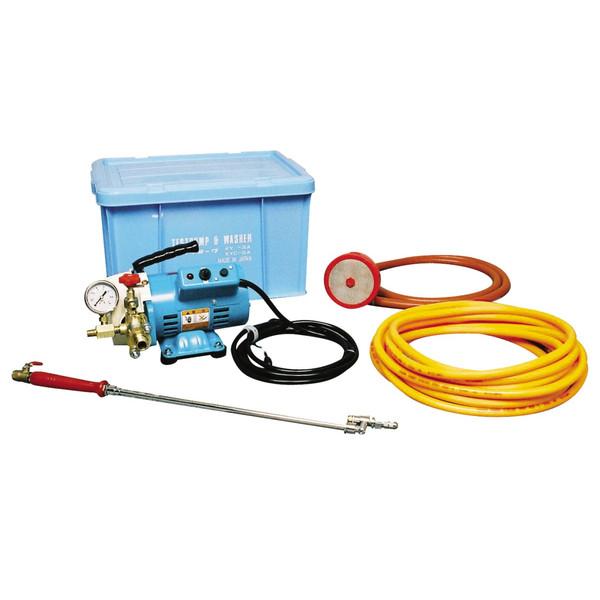 清掃用品・エアコン洗浄剤・業務用・プロ用 横浜油脂工業 エアコン洗浄機 リンダ KYC-20A 1台