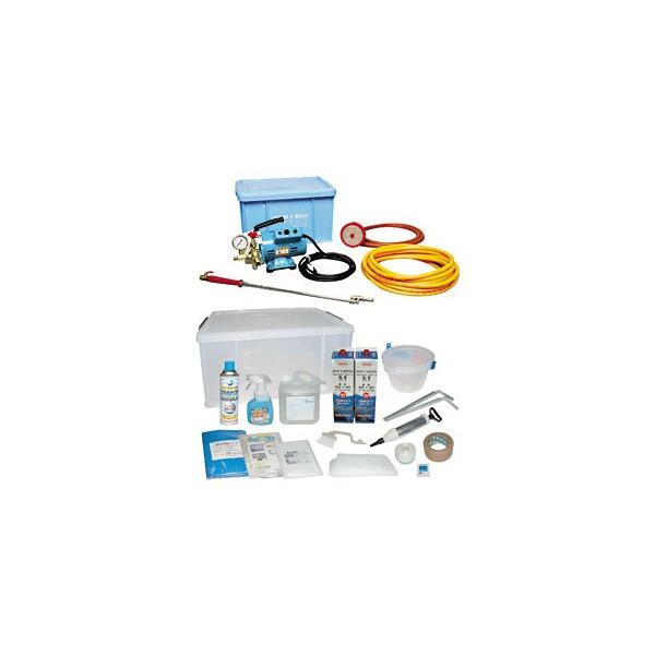清掃用品・エアコン洗浄剤・業務用・プロ用 横浜油脂工業 エアコン洗浄セット リンダ SNJ-Y-1 1 セット