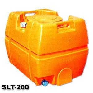 チープ 液体運搬用タンク 軽トラック テーラー横積み可 農作業における散水 防除用他 送料無料 スイコー 貯水槽 25A排水バルブ付き SLT-200 SLTタンク 年中無休 200L スーパーローリータンク