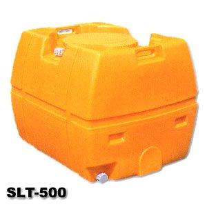 【送料無料】【スイコー】 貯水槽 SLTタンク(スーパーローリータンク) 500L [SLT-500] 【バルブなし】 黄