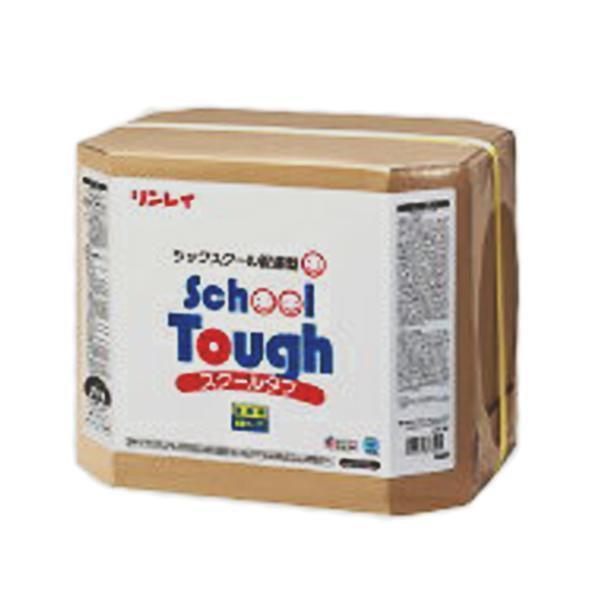 【送料無料】 リンレイ スクールタフ RECOBO (18L/1箱) (リンレイ学校用ワックス)学校用樹脂ワックス