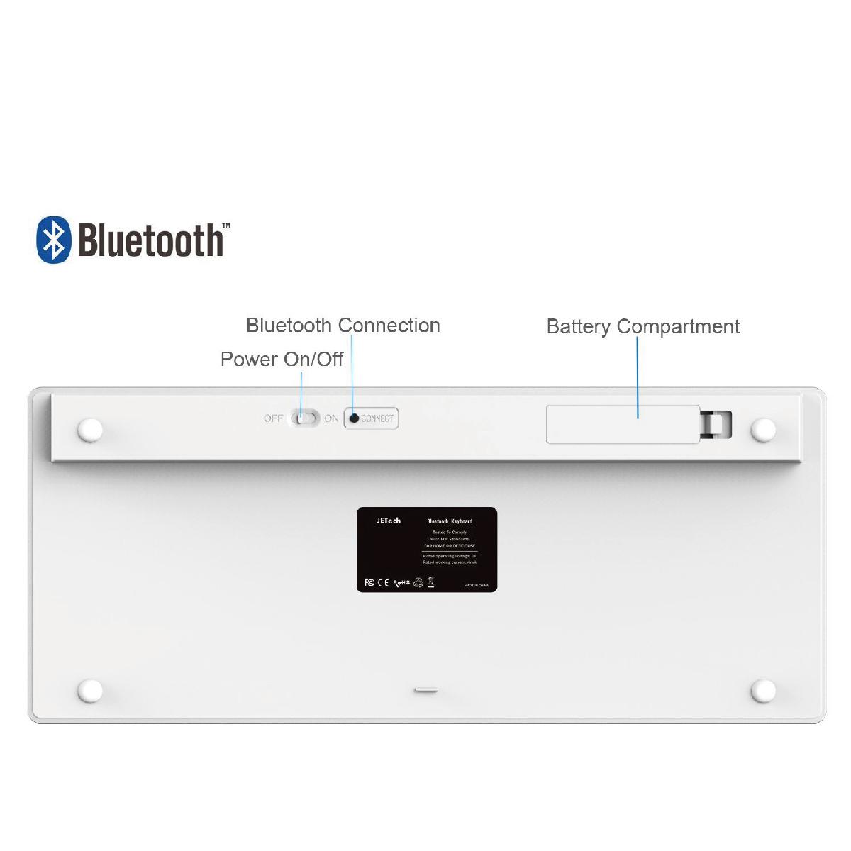 Bluetooth ワイヤレス キーボード スマートフォン・タブレット・iPhone・iPad・WindowsPC対応