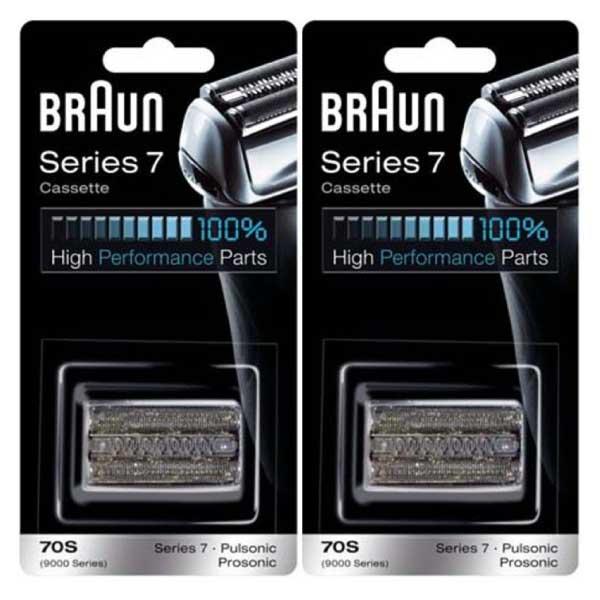 ブラウン 替刃 シリーズ7 70S (F/C70S-3Z F/C70S-3 海外正規品) 2個セットプロソニック 網刃・内刃一体型カセット BRAUN