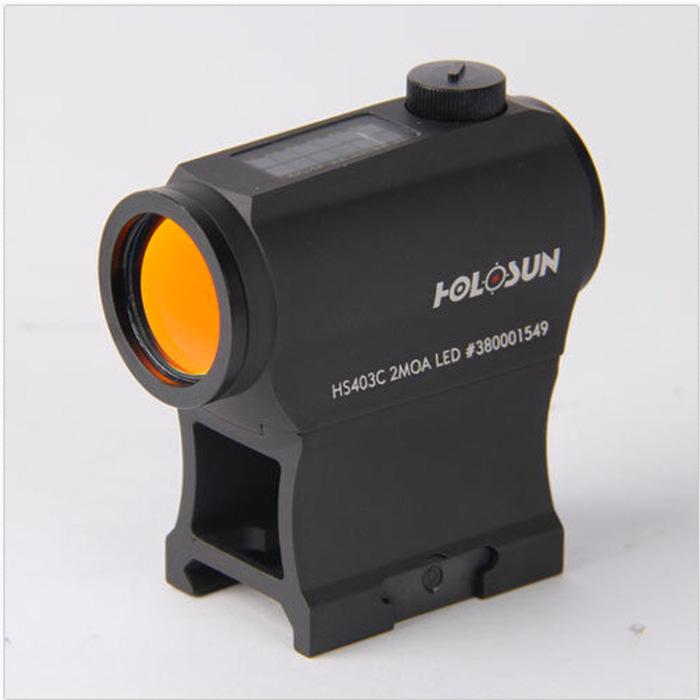 HOLOSUN HS403C SolarPower MicroRedDotSight, Black by HoloSun Technologies Inc.ホロサン