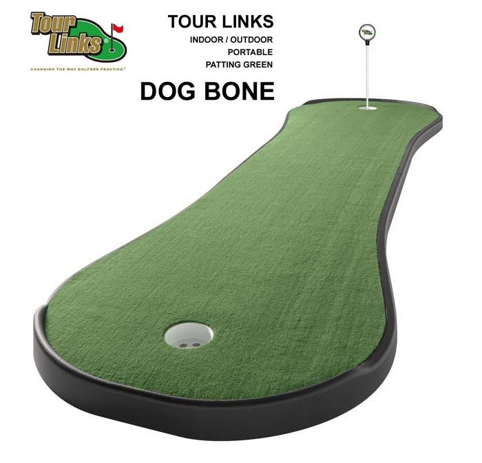 TourLinks ツアーリンクス(Dogbone)正規品 ゴルフ GOLF トレーニング 練習用品 パターマット