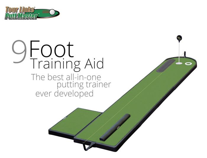 TourLinks ツアーリンクス(Training Aid)(9フィート)正規品 ゴルフ GOLF トレーニング 練習用品 パターマット