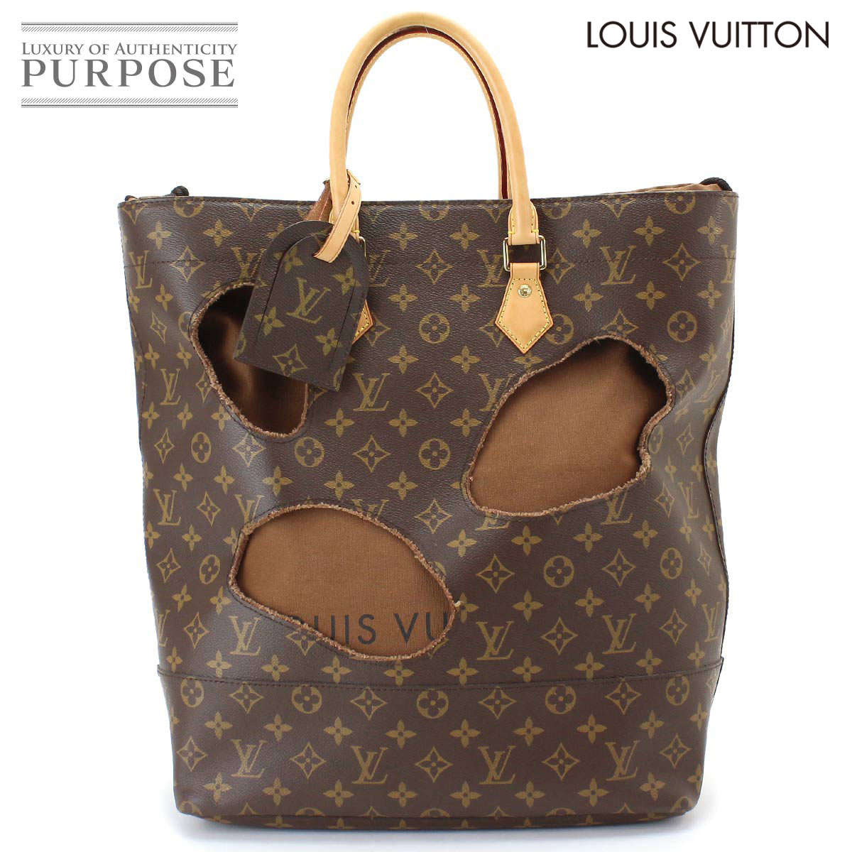 fb618ca97 Louis Vuitton LOUIS VUITTON monogram with halls tote bag M40279-limited  コムデギャルソン Rei Kawakubo [used] brand