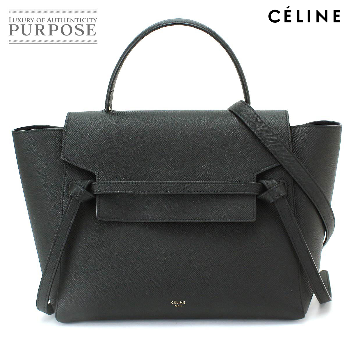 d5d8b9f3aa Purpose Inc  Celine CELINE belt bag mini-2WAY hand shoulder bag ...