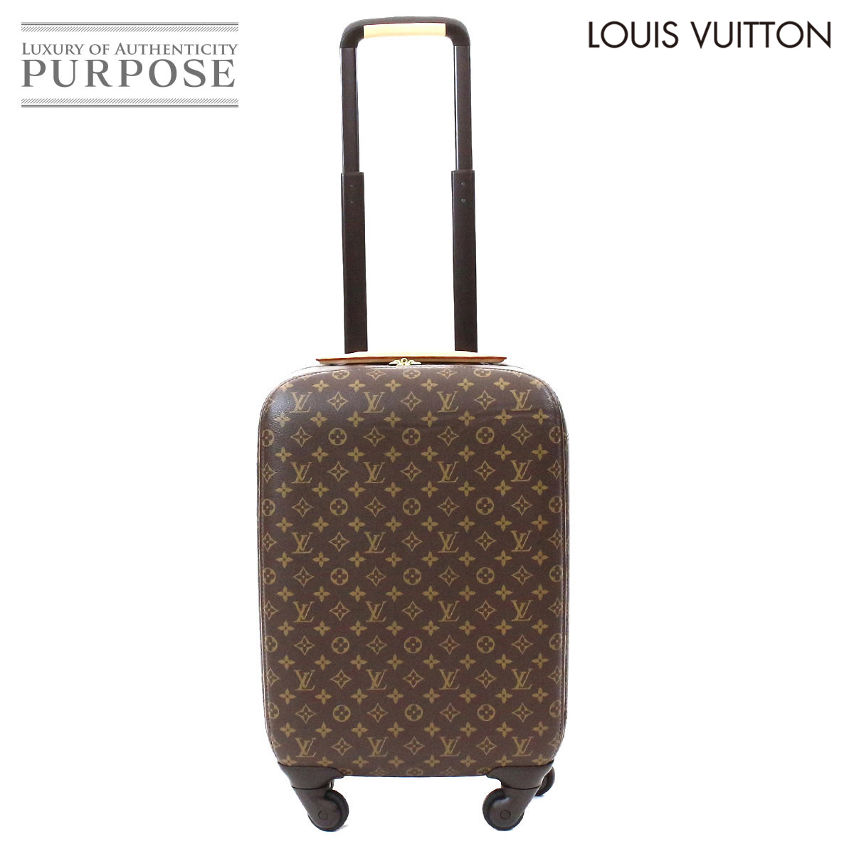 219666378c51 Louis Vuitton LOUIS VUITTON モノグラムゼフィール 55 carrier bag suitcase brown M23030   used  brand