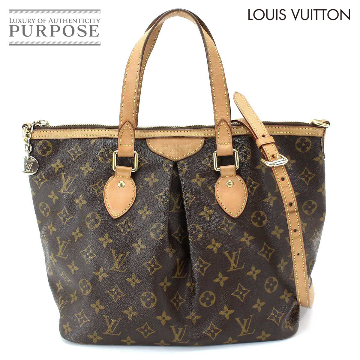 Louis Vuitton LOUIS VUITTON monogram Palermo PM 2way Thoth shoulder bag  canvas M40145  used  brand ecfac08d767cb