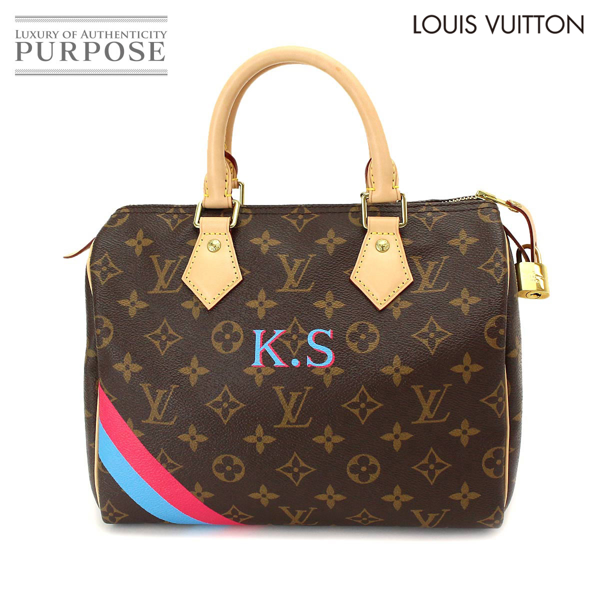 e53bb58a1307  unused display  Louis Vuitton LOUIS VUITTON mon monogram speedy 25 handbag  brown M41528  used  brand