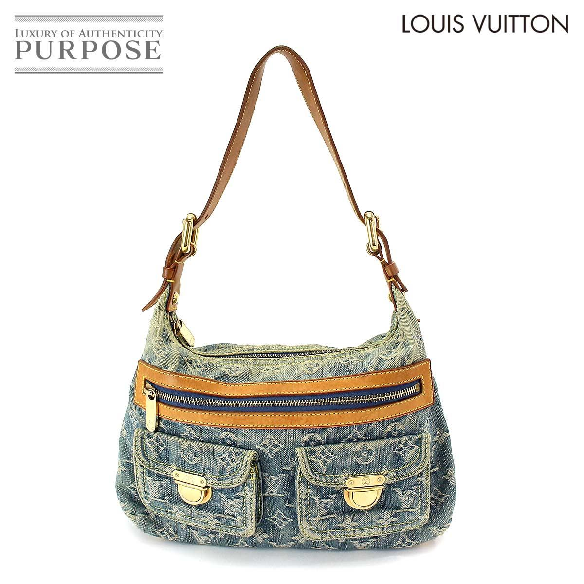 531adac0bfc8 Louis Vuitton LOUIS VUITTON monogram denim buggy PM shoulder bag canvas  blue M95049  used  brand