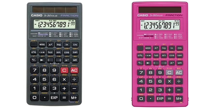 新品訳あり品!Casio(カシオ) 260 fx 関数電卓 並行輸入品 パッケージ無しの為値引き価格で提供致します。(2380円→2180円)